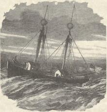Engraving of the Boston Lightship